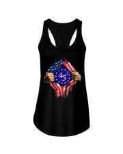 flag size ao Ladies Flowy Tank thumbnail