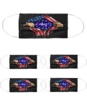 flag size ao Cloth Face Mask - 5 Pack thumbnail