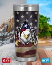 Eagle Texas Flag Heart Inside American Flag Tumbler Patriotic Gifts  20oz Tumbler aos-20oz-tumbler-lifestyle-front-42