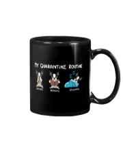 My Quarantine Routine boston3 Mug thumbnail