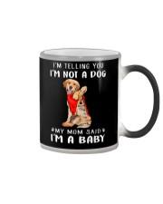 I'm Telling You I'M Not A Dog My Mom Retrievers Go Color Changing Mug thumbnail