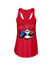 panda 1 Ladies Flowy Tank thumbnail