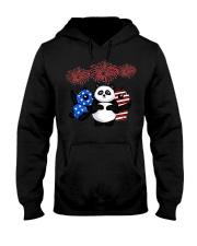 panda 1 Hooded Sweatshirt thumbnail