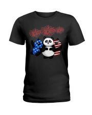 panda 1 Ladies T-Shirt thumbnail