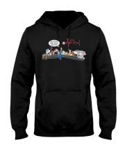 All animals and nurse lunch break edition Hooded Sweatshirt thumbnail