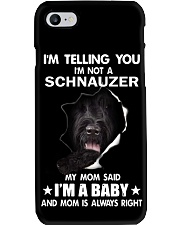 i'm telling you i'm not a schnauzer  Phone Case thumbnail