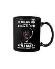 i'm telling you i'm not a schnauzer  Mug thumbnail