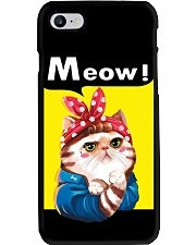 Cat meow edition Phone Case thumbnail