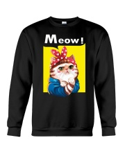 Cat meow edition Crewneck Sweatshirt thumbnail