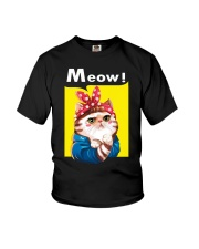 Cat meow edition Youth T-Shirt thumbnail