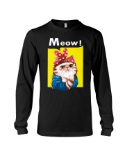 Cat meow edition Long Sleeve Tee thumbnail