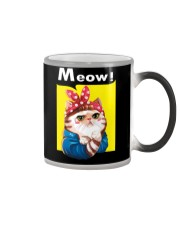 Cat meow edition Color Changing Mug thumbnail