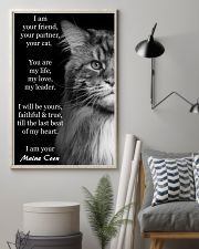 I Am Your Friend You Partner Your Cat 11x17 Poster lifestyle-poster-1