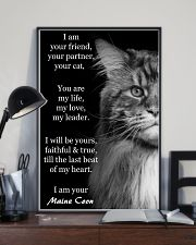I Am Your Friend You Partner Your Cat 11x17 Poster lifestyle-poster-2