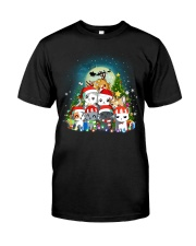 Cats cute T-shirt-Christmas gift for friend Classic T-Shirt front