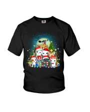 Cats cute T-shirt-Christmas gift for friend Youth T-Shirt thumbnail