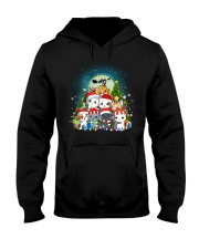 Cats cute T-shirt-Christmas gift for friend Hooded Sweatshirt thumbnail