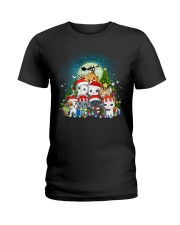 Cats cute T-shirt-Christmas gift for friend Ladies T-Shirt thumbnail