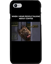 When I Hear People Talking About Pitbull Coffee Phone Case thumbnail