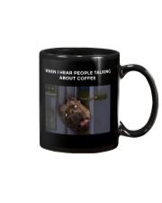 When I Hear People Talking About Pitbull Coffee Mug thumbnail