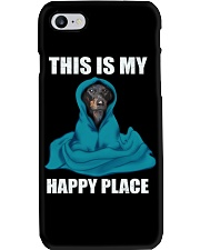 This is my happy place dachshund tshirt Phone Case thumbnail