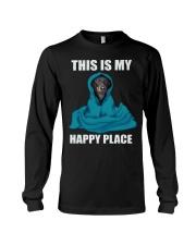 This is my happy place dachshund tshirt Long Sleeve Tee thumbnail