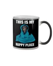 This is my happy place dachshund tshirt Color Changing Mug thumbnail