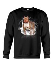 pitbull size ao Crewneck Sweatshirt thumbnail