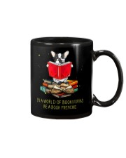 In A Worl D Of Bookworms Be A Book Frenchie Mug thumbnail