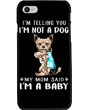 Yorkshire I'm Telling You I'm Not A Dog Phone Case thumbnail
