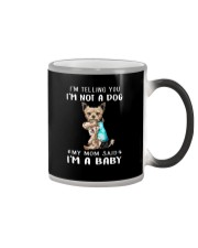Yorkshire I'm Telling You I'm Not A Dog Color Changing Mug thumbnail