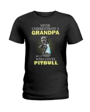 pitbull 1 Ladies T-Shirt thumbnail