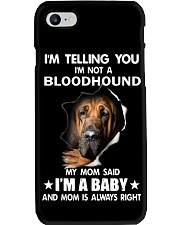 I'm telling you i'm not a bloodhound Phone Case thumbnail