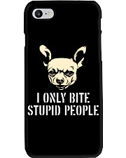 I Only Bite Stupid People Chihuahua2 Phone Case thumbnail