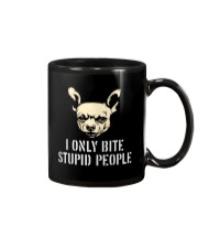 I Only Bite Stupid People Chihuahua2 Mug thumbnail