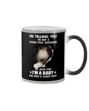 i'm telling you i'm not a wire fox terrier  Color Changing Mug thumbnail