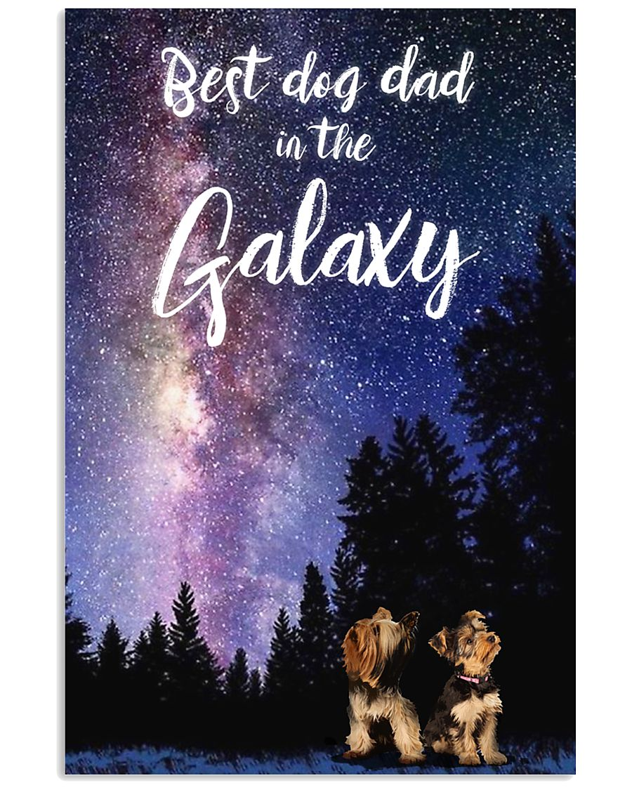 Best Dog Mom In The Galaxy yorkie 11x17 Poster
