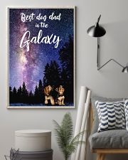 Best Dog Mom In The Galaxy yorkie 11x17 Poster lifestyle-poster-1