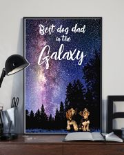 Best Dog Mom In The Galaxy yorkie 11x17 Poster lifestyle-poster-2