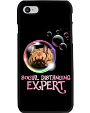 Social Distancing Expert frenchie 2 Phone Case thumbnail