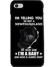 I'm telling you i'm not a newfoundland Phone Case thumbnail
