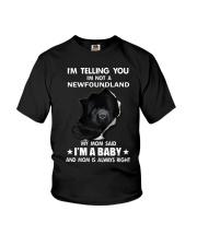 I'm telling you i'm not a newfoundland Youth T-Shirt thumbnail