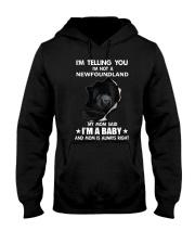 I'm telling you i'm not a newfoundland Hooded Sweatshirt thumbnail