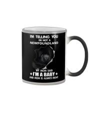 I'm telling you i'm not a newfoundland Color Changing Mug thumbnail