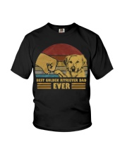 Best Golden Ritriever Dad Ever  Youth T-Shirt tile