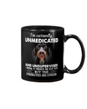 im currently unsupervised dachshund Mug thumbnail
