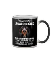 im currently unsupervised dachshund Color Changing Mug thumbnail