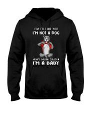 I'm Telling You I'M Not A Dog My Mom pitbull Hooded Sweatshirt thumbnail