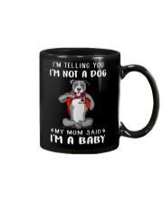 I'm Telling You I'M Not A Dog My Mom pitbull Mug thumbnail