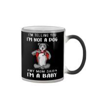 I'm Telling You I'M Not A Dog My Mom pitbull Color Changing Mug thumbnail